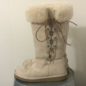 Ugg Tall Side Lace Up Boot